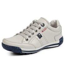 sapatênis tênis linha conforto reverso - 3021 bege