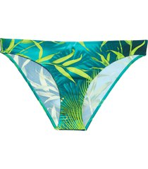 women's versace jungle print bikini bottoms
