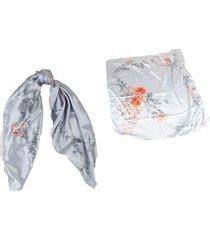 pañuelo gris almacén de paris