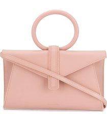 complét hoop handle tote bag - pink