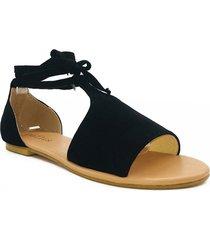 sandali con lacci solidi