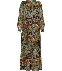 dresses light woven maxi dress galajurk groen esprit casual