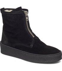 shoes shoes boots ankle boots ankle boots flat heel svart billi bi