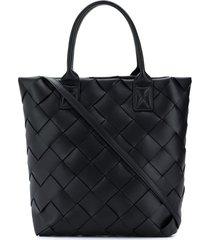 bottega veneta maxi cabat 30 tote bag - black