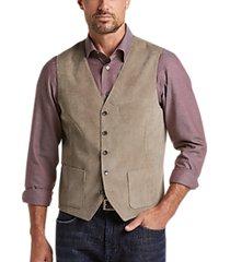 joseph abboud taupe modern fit modern fit vest