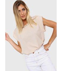 blusa beige new liza