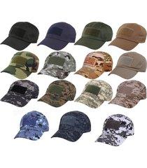 military digital camo tactical operator front flag patch hook loop ball cap hat