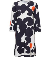 kertoja keidas dress jurk knielengte multi/patroon marimekko