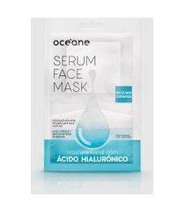 amaro feminino oceane máscara facial - serum face mask, ácido hialuronico