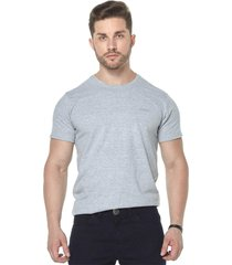 camiseta osmoze gola careca z 110112805 cinza