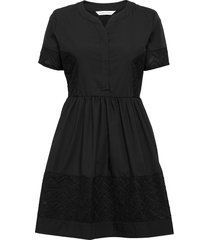 cam dress knälång klänning svart camilla pihl
