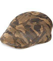 stetson men's camo ivy cap