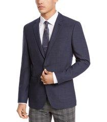hugo hugo boss men's classic-fit neat sport coat
