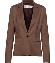 reginaiw zella blazer blazer kavaj brun inwear