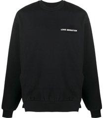 honey fucking dijon side-slit sweatshirt