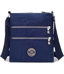 jinqiaoer-stylish-small-nylon-messenger-bag-women-waterproof-crossbody-bags-doub