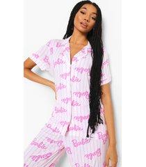 mix & match barbie pyjama blouse, pink