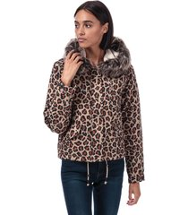 only womens skylar parka jacket size 6-8 in cream