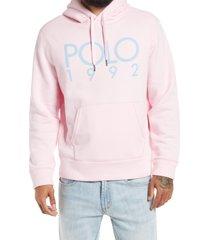 men's polo ralph lauren men's magic fleece hooded sweatshirt