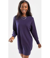 jordan sweatshirt mini dress - navy