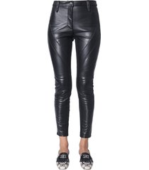 alberta ferretti pants with side bands