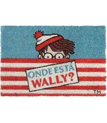 capacho de fibra de coco onde está wally?