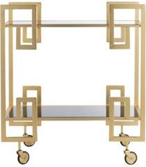 eliza 2-tier bar cart