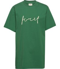 slope t-shirt t-shirts short-sleeved grön forét