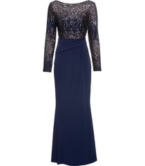 abito con paillettes (blu) - bodyflirt boutique