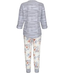 pyjamas mona benvit::marinblå::terrakotta