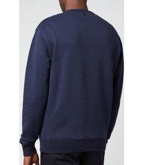 ami men's de coeur crewneck sweatshirt - navy - xxl