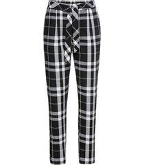 pantalone a quadri (nero) - rainbow