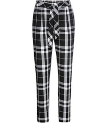 pantaloni a quadri (nero) - rainbow