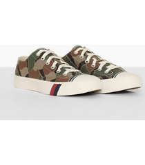 pro-keds royal lo rok camo sneakers olive