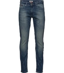 slim scanton bemb slimmade jeans blå tommy jeans