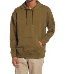 men's bp. men's hoodie, size large - green