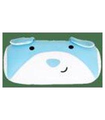 almofada protetor de berco 30cm lupe azul floc by fom