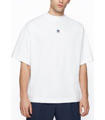boss x russell athletic unisex relaxed-fit t-shirt
