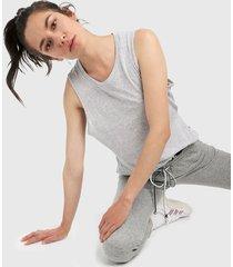 camiseta esqueleto gris ambiance