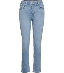724 high rise straight san fra slimmade jeans blå levi´s women