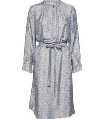 3418 - raya fs dress knälång klänning grå sand