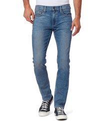 men's paige vintage lennox slim fit jeans, size 28 - blue