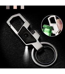 catena chiave multifunzione anello chiave in lega di zinco per gli uomini