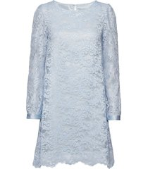 sasha dress korte jurk blauw ida sjöstedt