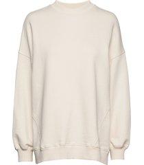uni 1 sweat-shirt trui crème fall winter spring summer