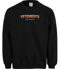 think differently sweatshirt, black