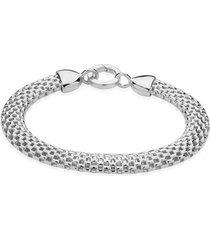 sterling silver doina wide chain bracelet
