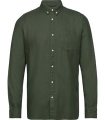 twill shirt/vegan overhemd casual groen knowledge cotton apparel