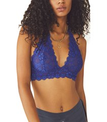 women's free people intimately fp lace halter bralette