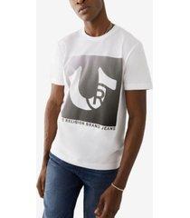 men's trademark horseshoe logo tee